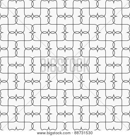 Slim Gray Pointy Grid