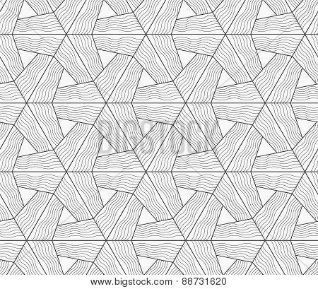 Slim Gray Wavy Textured Tetrapods