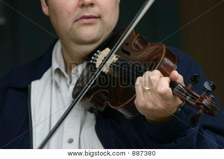 Playing The Fiddle