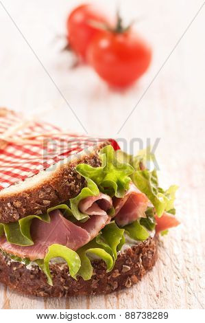 fresh delicious sandwich
