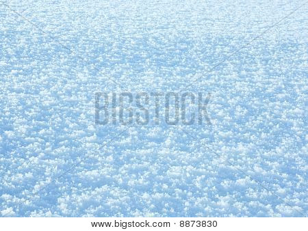 Winter Snow Surface