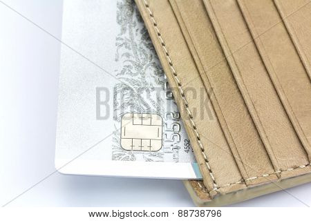 Credit Card And Wallet