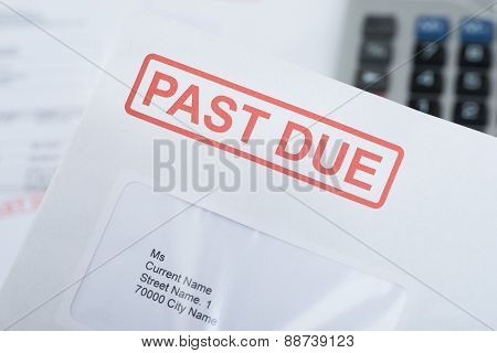 Past Due Envelope