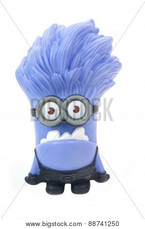 Purple Minion Figurine