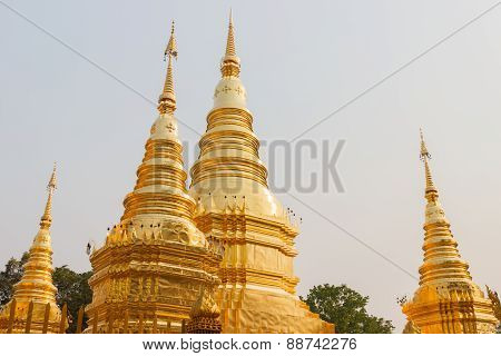 Golden Buddhist Pagoda