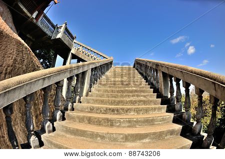 Stairs Upwards