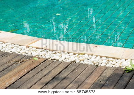 Poolside Of Swimming Pool