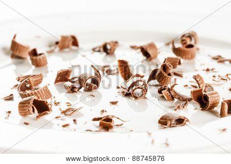 Chocolate shaving