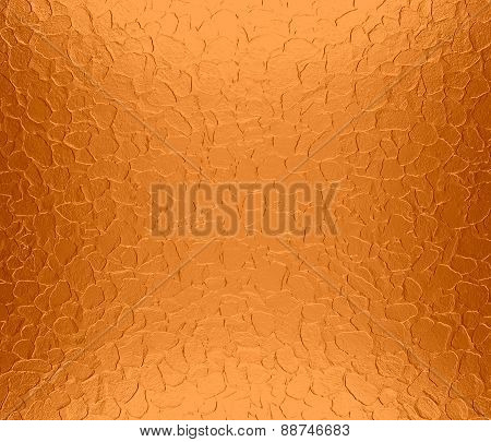 Alloy orange metallic metal texture background
