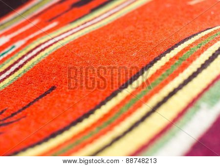 Traditional Ukrainian Woven Fabric