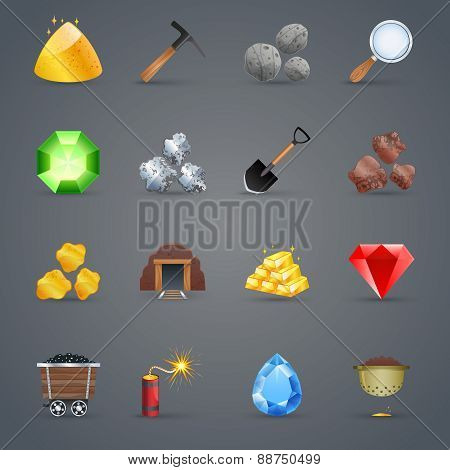 Mining Game Icons