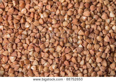 Buckwheat Groats Background