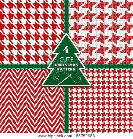 Seamless fashion christmas texture