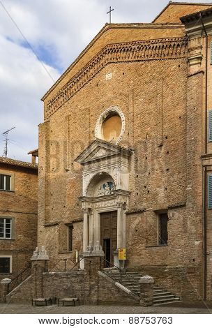 Church Of St Dominic, Urbino, Italy