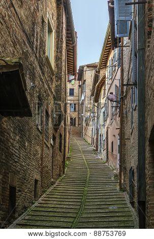 Streen In Urbino, Italy