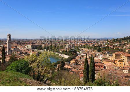 Verona Panorama Italy