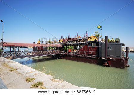 Floating restaurant, El Puerto de Santa Maria.