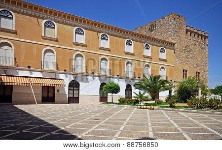 Castle courtyard, Cabra.