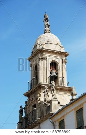 Church bell tower, Priego de Cordoba.