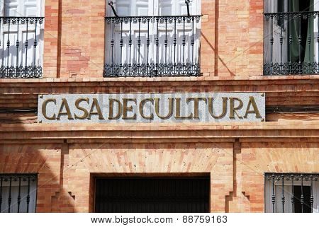 House of Culture, Priego de Cordoba.