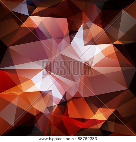 Polygonal Brown Background