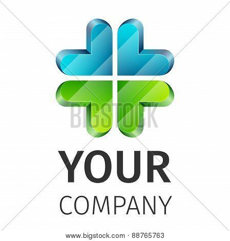 Abstract logo medical