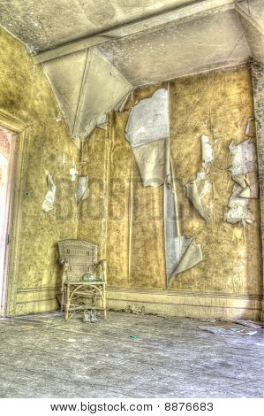 HDR photo of derelict home