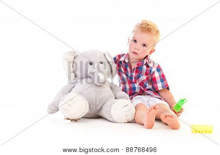 Attentive Listening Boy