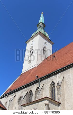 Cathedral of St. Martin in Bratislava, Slovakia