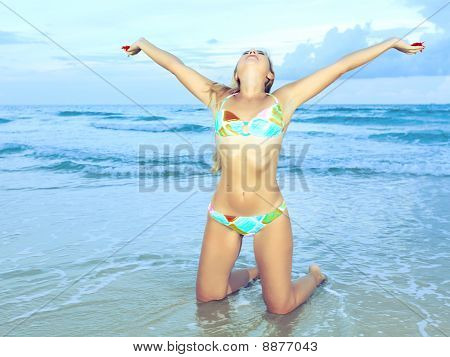 Woman At The Beach