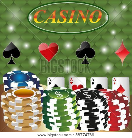 Gambling Background.