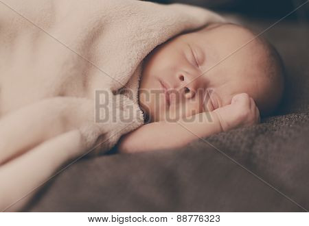 Sweet Sleeping Newborn