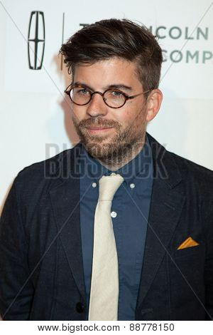 NEW YORK, NY - APRIL 22: Henry Hobson attends the 2015 Tribeca Film Festival world premiere narrative: 'Maggie' at BMCC Tribeca PAC on April 22, 2015 in New York City.