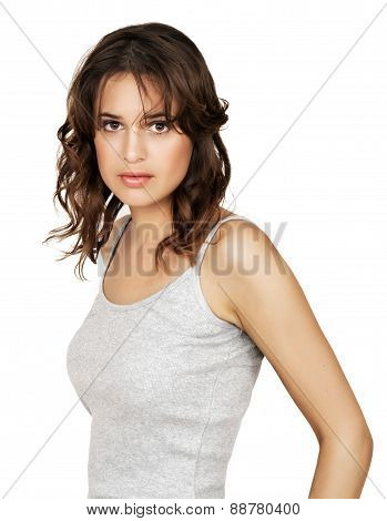 Woman In Tank Top