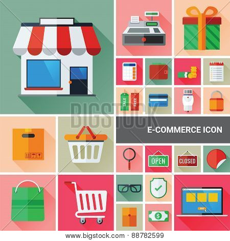 Ecommerce Icon Collection