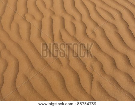 Picture Filling Sands As Background.