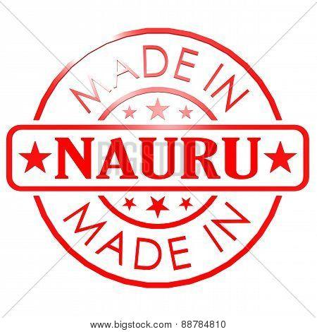 Made In Nauru Red Seal
