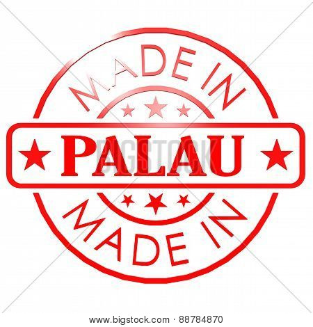 Made In Palau Red Seal