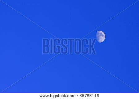 Blue moon of the Nordic sky.