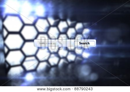 Search engine against hexagon room