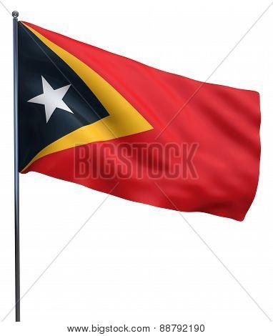 East Timor Flag Image