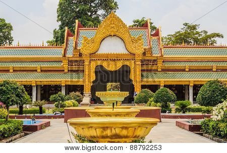 Thailand Temple Gate