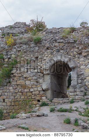The Ruins Of The Ancient City Of Hersonissos. Crimea