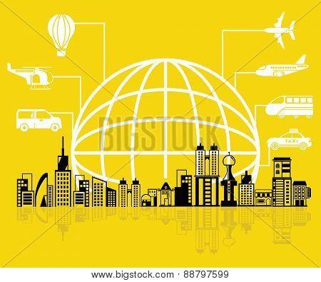 global transportation concept