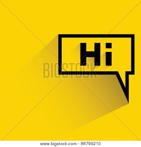 hi message