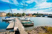 picture of jetties  - Helsinki - JPG