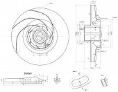 picture of degree  - Expanded sketch wheel with radius - JPG