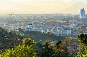 picture of turin  - Panoramic view of Turin from above, Italy