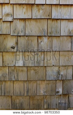 Cedar Shingled Wall