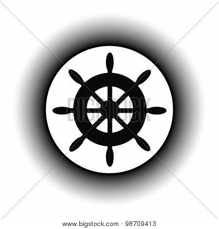Steering Wheel Button.